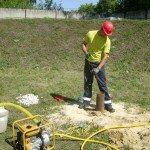 Инженерно-экологические изыскания: замер уровня грунтовых вод